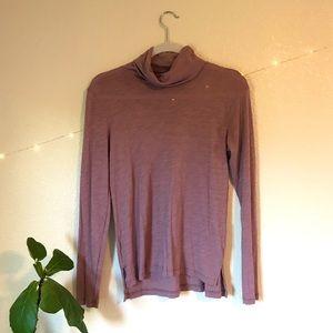 Madewell Cotton Turtleneck Long Sleeve Shirt XS
